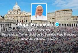 A través de Twitter, entre otros medios, puedes enviar un mensaje al Papa Francisco