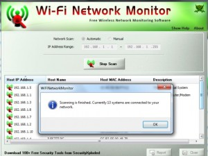Wi Fi Network monitor