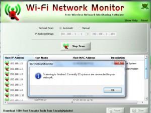 Wi Fi Network monitor