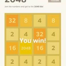 ¿Todavía no pudiste ganar 2048?