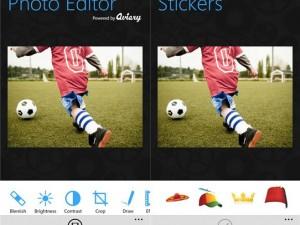 Editar fotos en Windows Phone pocas veces resultó tan fácil