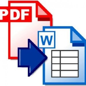 Convertir un PDF a Word