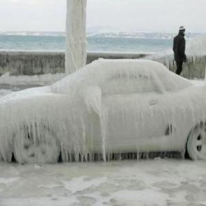 arrancar un auto en la mañana