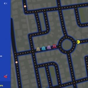 Jugar al Pac Man en Google Maps