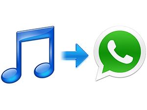 Enviar una canción por WhatsApp