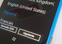 Cómo cambiar el idioma de Nokia Lumia