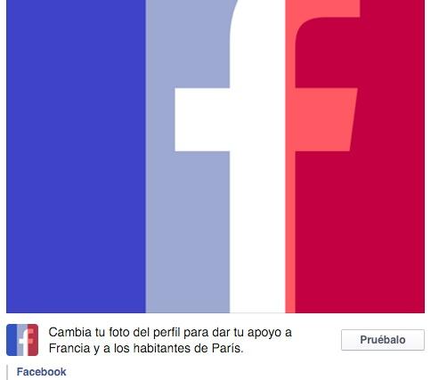 Quitar la bandera de Francia en la foto de perfil