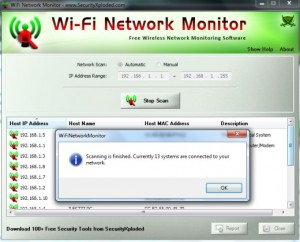 Wi Fi Network monitor: Una manera muy simple de saber quien nos roba Wi Fi