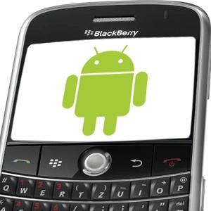 instalar apps de Android en Blackberry