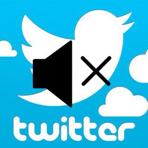 Silenciar usuarios de Twitter