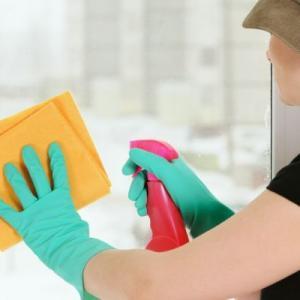 limpiar vidrios sin marcarlos