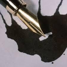 quitar manchas de tinta