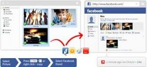 Facebook Web Uploader Es una extensión que nos ayudará a subir fotos a Facebook rápidamente