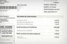 Consultar factura de telefónica