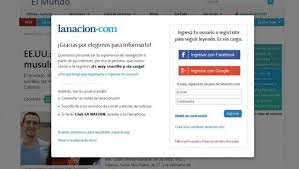 Leer La Nación sin registrarse