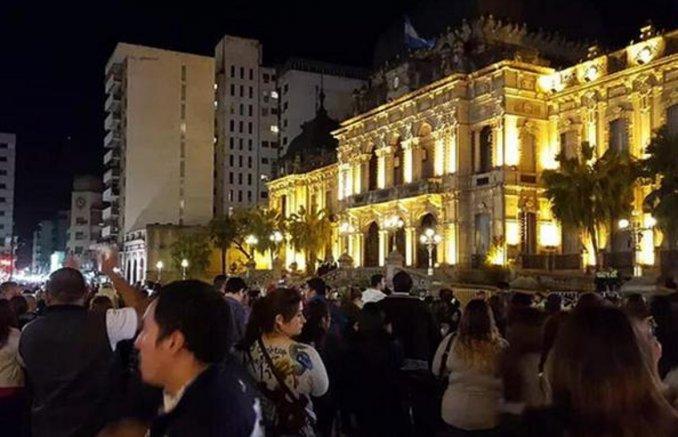 Incidentes en Tucumán