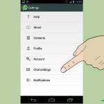 Cambiar el fondo de los chats de Whatsapp