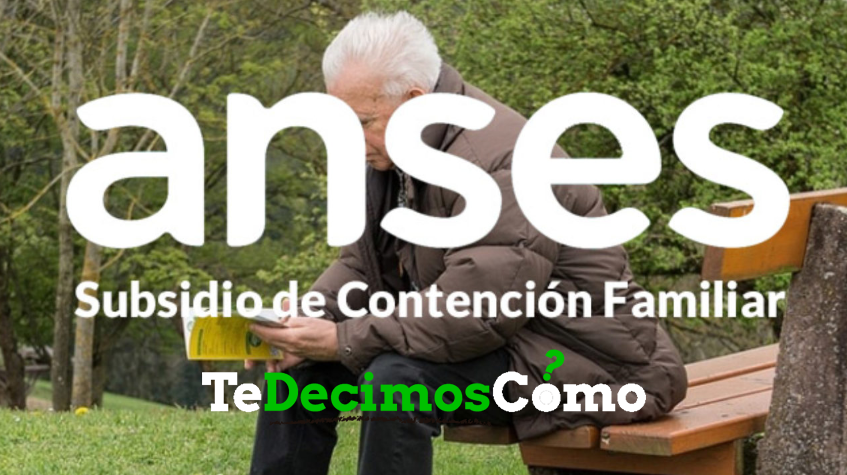 Subsidio de contención familiar anses